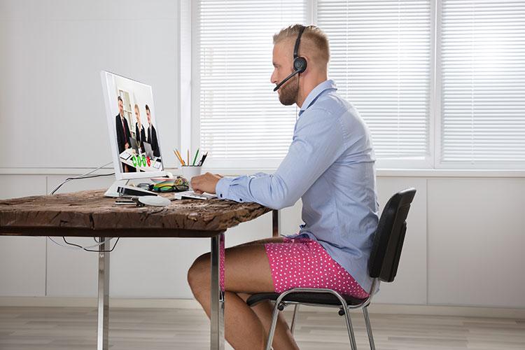 Ein Home-Office Tag im Schlafanzug?